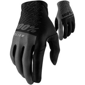 100% Celium Handschuhe schwarz/grau